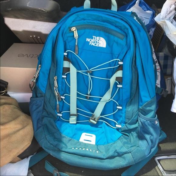 North face bookbag